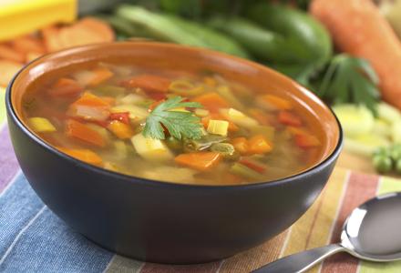 Dieta cu supa de pui - Slab sau Gras