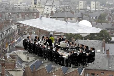 restaurant dinner in the sky ciudat luxos scump