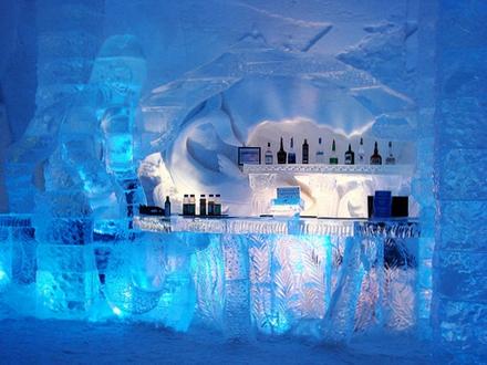 ice hotel suedia hotel de gheata restaurant mancare