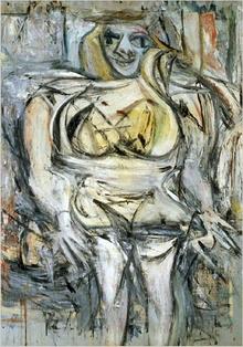 woman III, willem de koonig cea mai scumpa pictura din lume abstract