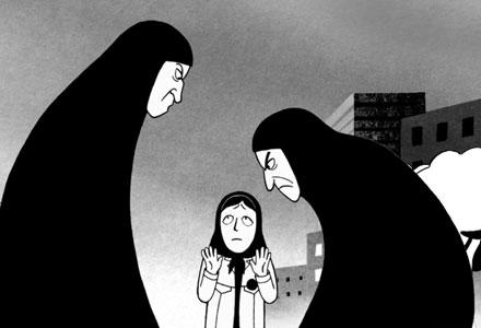 Imagine din filmul Persepolis, adaptare dupa romanul lui Marjane Satrapi