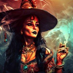 Vrăjitoarea zodiacului: femeia cu puteri supranaturale