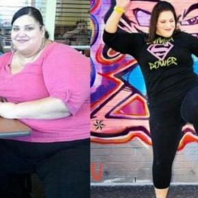 O femeie a slăbit 100 de kilograme fără dietă. Află secretul ei!