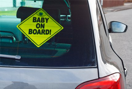 Coming soon: baby on board