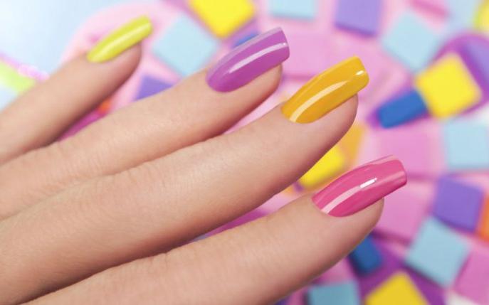 Manichiura Dip Nails 2018 Divahairro