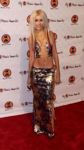 Christina Aguilera la începutul anilor 2000