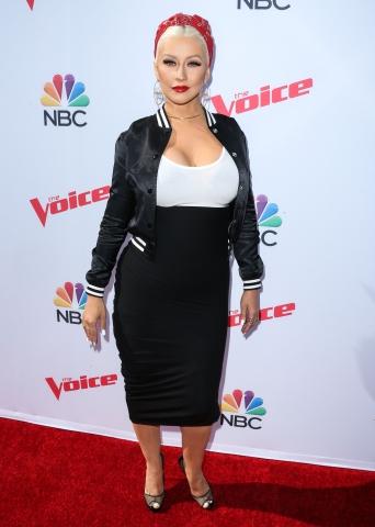 Christina Aguilera în 2016