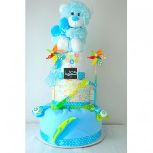 "Tort de pampers ""New Best Friend"""