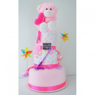 Tort pampers New Pink