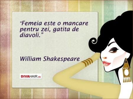 citate celebre despre mancare Citat despre femei Shakespeare citate celebre despre mancare