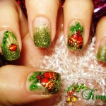 Unghii Craciun by Kory Nails