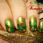 Model unghii Craciun by Kory Nails