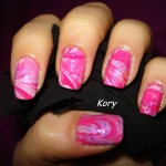 Unghii roz by Kory Nails