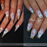 Unghii false Stiletto Nails vs. Square Nails by Maria D.
