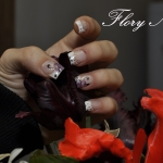 Unghii cu gel pictate by Flory Nails