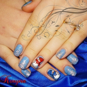 Model unghii om de zapada by Kory Nails