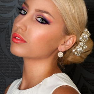 Make-up ochi albastri Andrada Arnautu