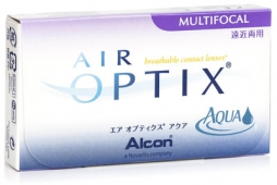 Air Optix Aqua Multifocal (3 lentile)