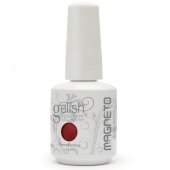 Gel Soak Off GELISH Magnetic Electric Metal  Lover- Magneto Red 15 ml (.5 oz)