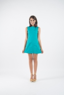Antonia 60′s turquoise dress