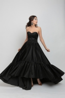 Black Orchid Evening Gown