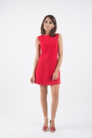 Antonia 60′s red dress