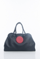 The Red Dot 60's maxi bag