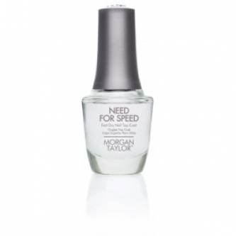 "Lac de unghii -top coat ""NEED FOR SPEED""(uscare rapidă) 15 ml (.5 oz)"
