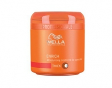 Masca de păr Wella Enrich for thick hair