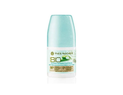 Deodorant roll-on anti-perspirant cu aloe vera Bio Yves Rocher