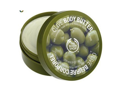 Unt de corp cu ulei de masline The Body Shop
