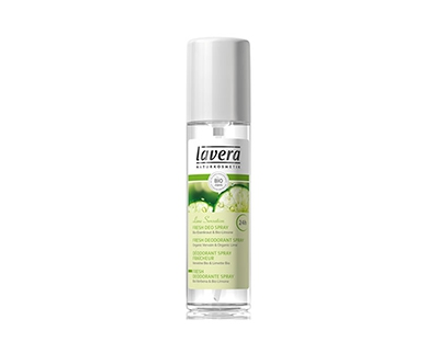 Deodorant spray Lavera Body Spa Lime Sensation