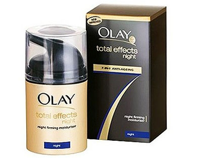 Crema de noapte Olay Total Effects