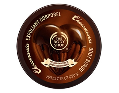 Exfoliant pentru corp The Body Shop Body Scrub Chocomania