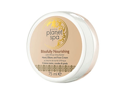 Crema pentru picioare, maini si coate Avon Planet Spa Blissfully Nourishing with Shea Butter