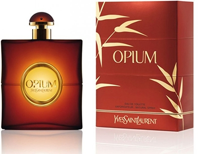 Apa de parfum Opium by Yves Saint Laurent