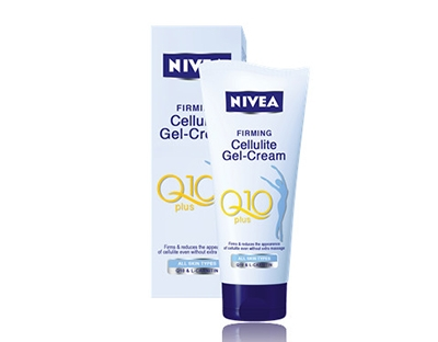 Gel crema anticelulitic Nivea Q10 Plus