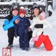 Vezi cele mai noi poze cu Familia Regala Britanica, in vacanta, la schi!