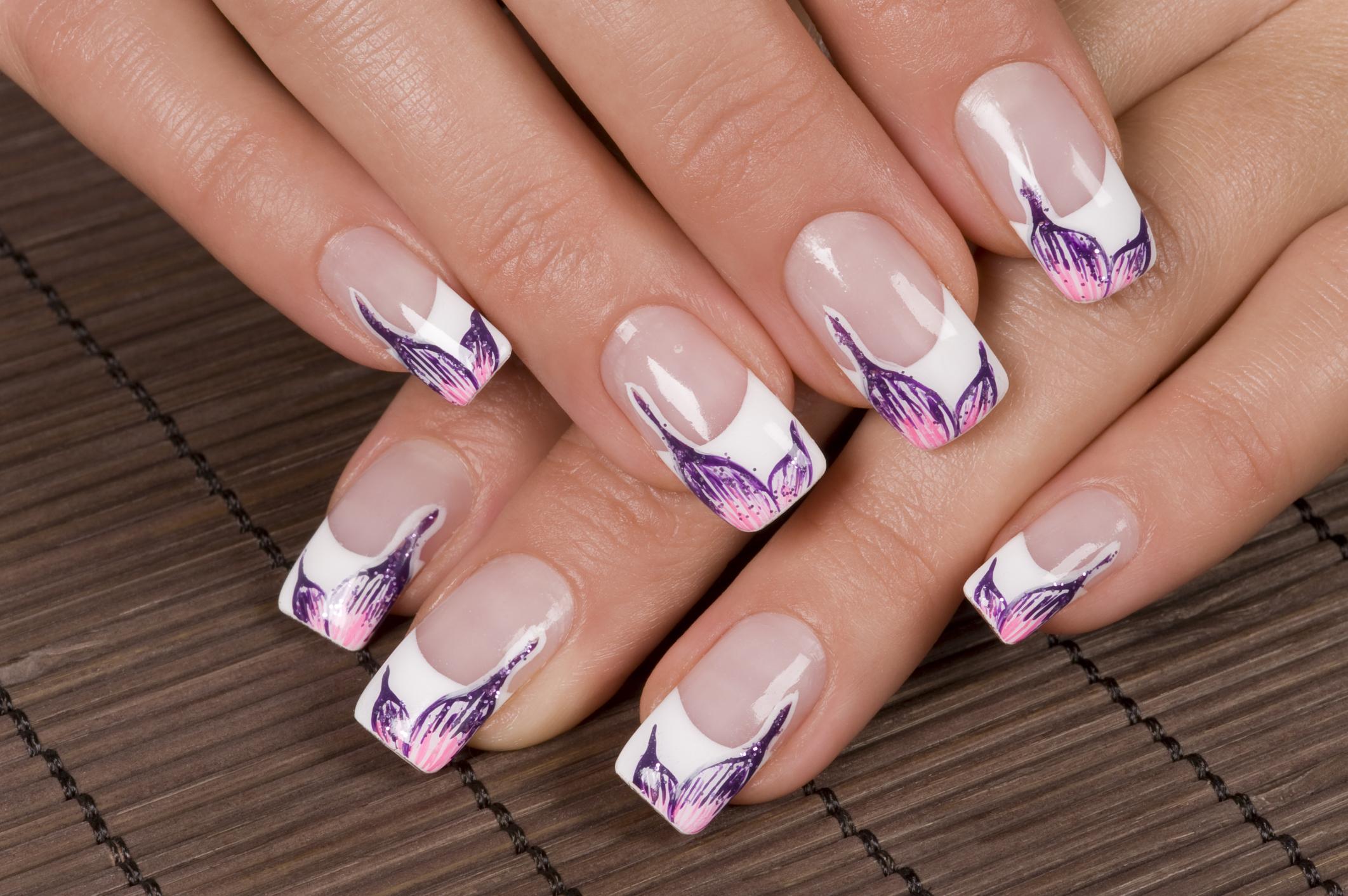 Дизайн ногтей на френч видео