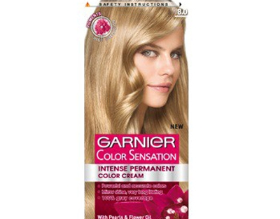 Vopsea de par Garnier Color Sensation 8.0 Blond Deschis Luminos.